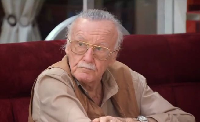 Stan Lee Is Not Amused.